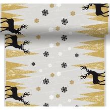 Duni Dunicel Tischläufer 3 in 1 Oh Deer 0,4 x 4,8 m 1 Stück
