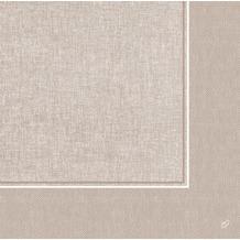 Duni Dunilin-Servietten 1/ 4 Falz 48 x 48 cm Lina Greige, 40 Stück