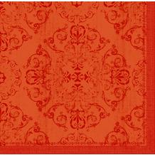 Duni Dunilin-Servietten Opulent mandarin 40 x 40 cm 45 Stück