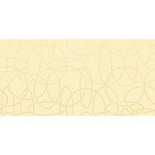 Duni Dunisilk+ Tischdecken 120 x 120 cm Circuits Cream