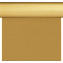 Duni Dunisilk+ Tischläufer 3 in 1 gold 0,4 x 4,80 m 1 Stück