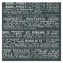Duni Dunisoft-Servietten 20 x 20 cm 1/ 4 Falz Le Bistro, 180 Stück