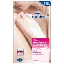 Duni Duniwell Einmal-Intimpflege Handtücher Airlaid weiß, 40 x 25 cm, 15 Stück 40 x 25 cm