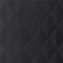 Duni Elegance-Servietten Crystal schwarz, 40 x 40 cm, 40 Stück