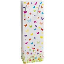 Duni Flaschentüten Trend Motiv Mariposa, 12,3 x 36,2 x 7,8 cm