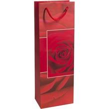 Duni Flaschentüten Trend Motiv Rosy, 12,3 x 36,2 x 7,8 cm