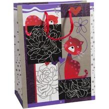 Duni Geschenktüten Trend Motiv Aristocats, 17,8 x 22,9 x 9,8 cm