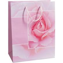 Duni Geschenktüten Trend Motiv Rosy, 17,8 x 22,9 x 9,8 cm