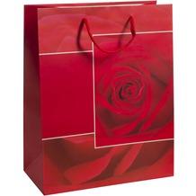 Duni Geschenktüten Trend Motiv Rosy, 26 x 32,4 x 12,7 cm