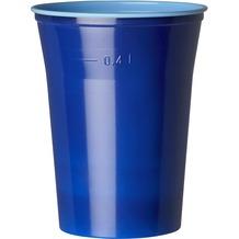 Duni Gläser Plastik Colorix 50 cl   10 Stück blau