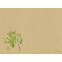 Duni Graspapier Tischset Veggies 30 x 40 cm 250 Stück
