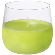 Duni Kerzengläser Glas Ellie ø 6,8 cm, Höhe 7 cm kiwi