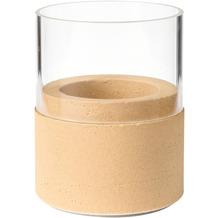 Duni Kerzenhalter Neat sand, Glas 75 x 68 mm 1 Stück