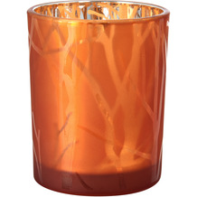 Duni Kerzenhalter Shimmer 100 x 80 mm rust