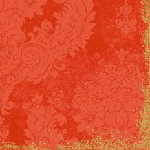 Duni Klassik-Servietten 4 lagig 1/ 4 Falz 40 x 40 cm Royal Mandarin, 50 Stück