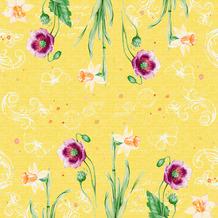 Duni Klassikservietten Spring Lilies 40 x 40 cm 50 Stück