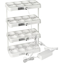 Duni LED-Stapelstation für 4 Sets à 8 weiß 430 x 255 mm 1 Stück