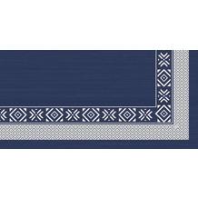Duni Mitteldecken 84 x 84 cm Winter feeling blue, 20 Stück