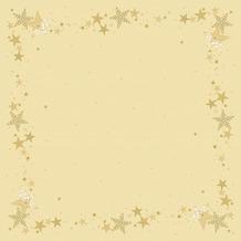 Duni Mitteldecken Motiv Walk of Fame Cream 84 x 84 cm 20 Stück