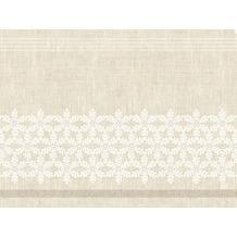 Duni Papier-Tischsets 30 x 40 cm Linen Snow