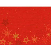 Duni Papier-Tischsets 30 x 40 cm Star Stories Red