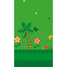 Duni Papier laminiert Tischdecken 120 x 180 cm Jungle Friends