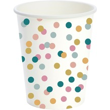 Duni Pappe Becher Dream Dots 24 cl 10 Stück