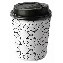 Duni Pappe Kaffeebecher Sati White 24 cl 8 Stück