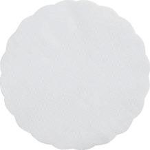 Duni Plattenpapiere weiß, 24 cm rund, 500 Stück