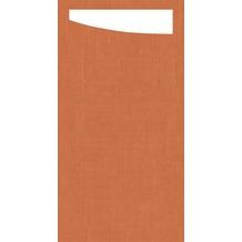 Duni Sacchetto Serviettentasche Mandarin, 11,5 x 23 cm, 60 Stück
