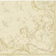 Duni Servietten Dunisoft® Charm Cream 40 x 40 cm 12 Stück