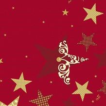 Duni Servietten Motiv Walk of Fame Red 40 x 40 cm 50 Stück