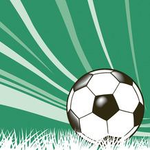 Duni Servietten Tissue Football season 33 x 33 cm 20 Stück
