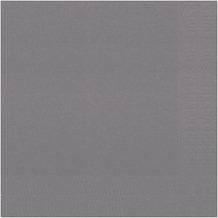 Duni Servietten Tissue granitgrau 40 x 40 cm 50 Stück
