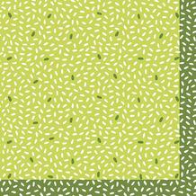 Duni Servietten Tissue Rice Green 24 x 24 cm 20 Stück