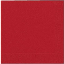Duni Servietten Tissue rot 40 x 40 cm 50 Stück
