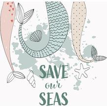 Duni Servietten Tissue Save our seas 33 x 33 cm 20 Stück