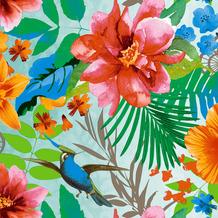Duni Servietten Tissue Tropical paradise 33 x 33 cm 20 Stück