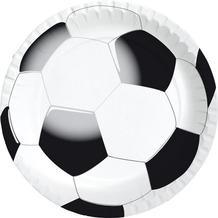 Duni Teller laminiert Pappe ø 22 cm Football, 10 Stück