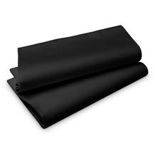 Duni Tischdecken aus Evolin 127x220cm schwarz, 5 Stück