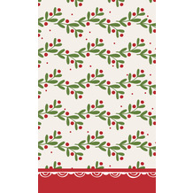 Duni Tischdecken Dunicel® 118 x 180 cm Happy Holly 1er Pack