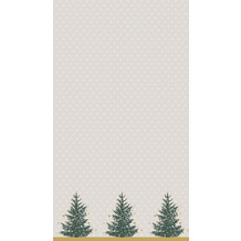 Duni Tischdecken Dunicel® 138 x 220 cm Trees in Gold 1er Pack