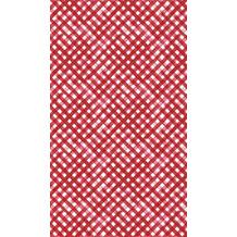 Duni Tischdecken Dunisilk® Red Checks 138 x 220 cm 1 Stück