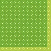 Duni Tissue Cocktail - Servietten 24 x 24 cm Brook Green, 20 Stück