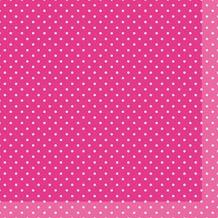Duni Tissue Cocktail - Servietten 24 x 24 cm Brook Pink, 20 Stück