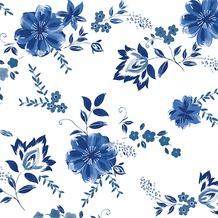 Duni Tissue Cocktail - Servietten 24 x 24 cm Laura, 20 Stück