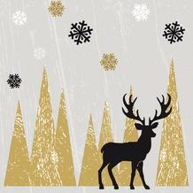 Duni Tissue Servietten Oh Deer 33 x 33 cm 20 Stück