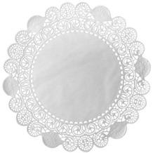 Duni Torten-Spitzen rund weiß, ø 19 cm, 250 Stück