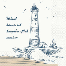 Duni Zelltuchservietten Küste & Meer 33 x 33 cm 300 Stück