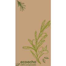 Duni Zelltuchservietten Veggies 40 x 40 cm 250 Stück